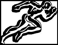 white Core Performance Academy Logo Man