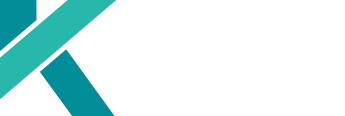 Kates Digital Marketing company logo with white font